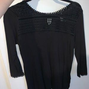H & M long sleeve, detailed shirt